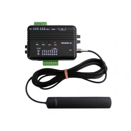 Контролер за дистанционно управление на електрически вериги през GSM мрежа  TELEKEY 01
